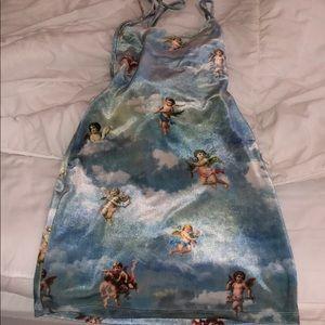 Strappy cherub dress
